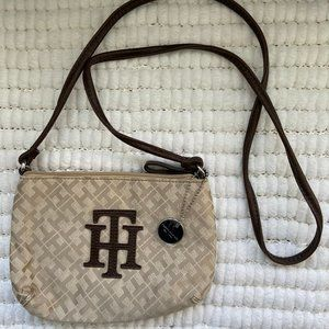 Tommy Hilfiger Monogram Crossbody Purse